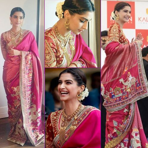 ca28d424f 15 Types of Traditional Sarees From Across The India That Every Woman  Should Know