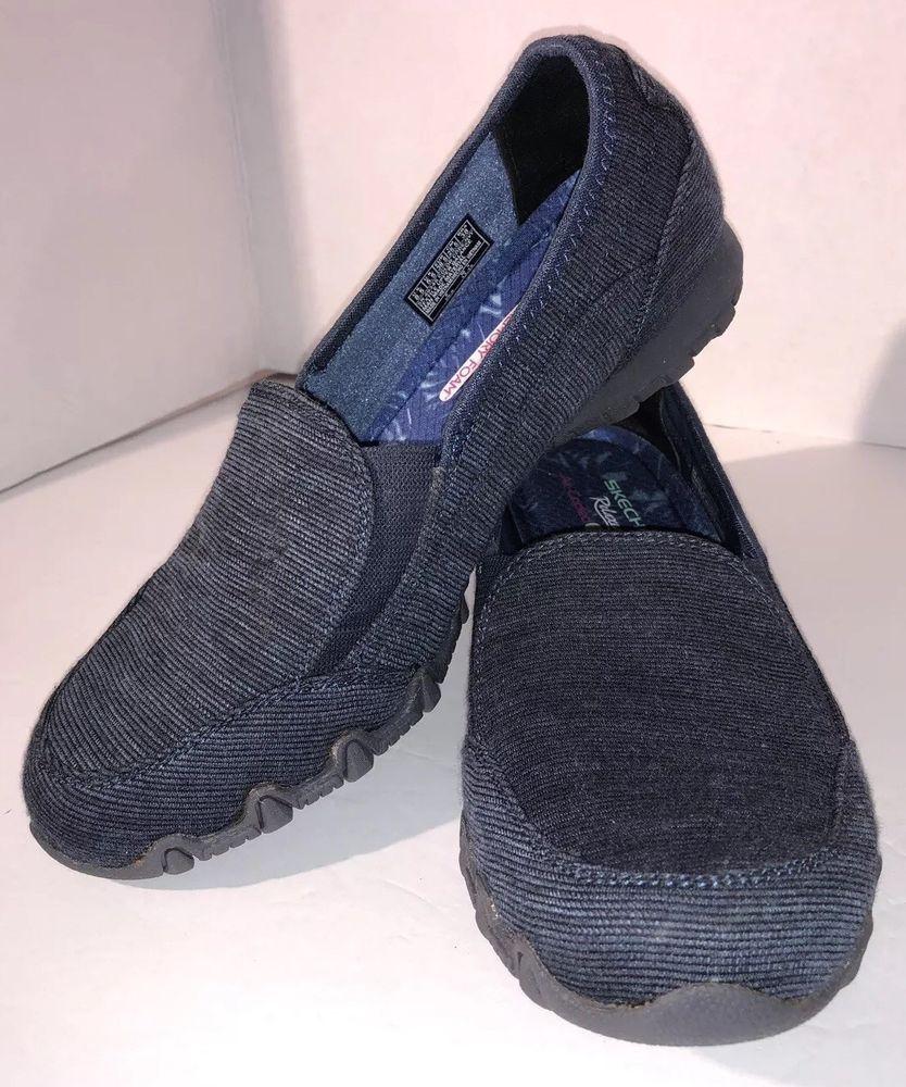 Womens Skechers Reaxed Fit Memory Foam Loafers Slipon Size 8 5