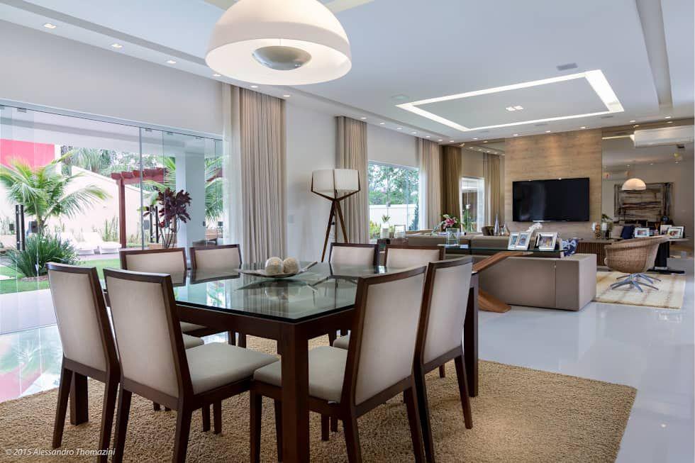 Comedores de estilo por adriana leal interiores for Interiores de salas modernas