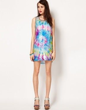 Natasha Stolle for Lulu & Co Print Sequin Dress at ASOS