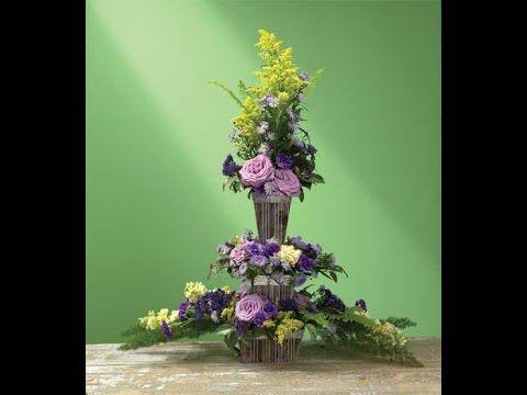 How to Create A Flower Etegre' combining 3 Arrangements