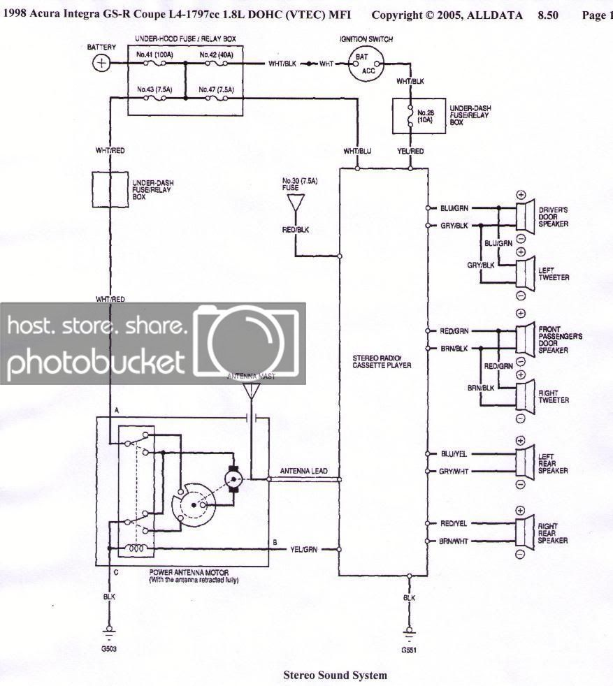 Acura Integra Stereo Wiring Diagram There You Go Alldata I Never Argue With It Acura Integra Stereo Wiring Di Electronic Schematics Diagram Circuit Diagram