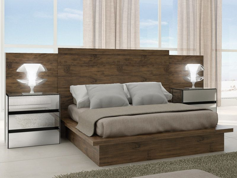 Camas modernas de madeira pesquisa google ideas depa camas habitaci n moderna y recamara - Fotos de camas bonitas ...