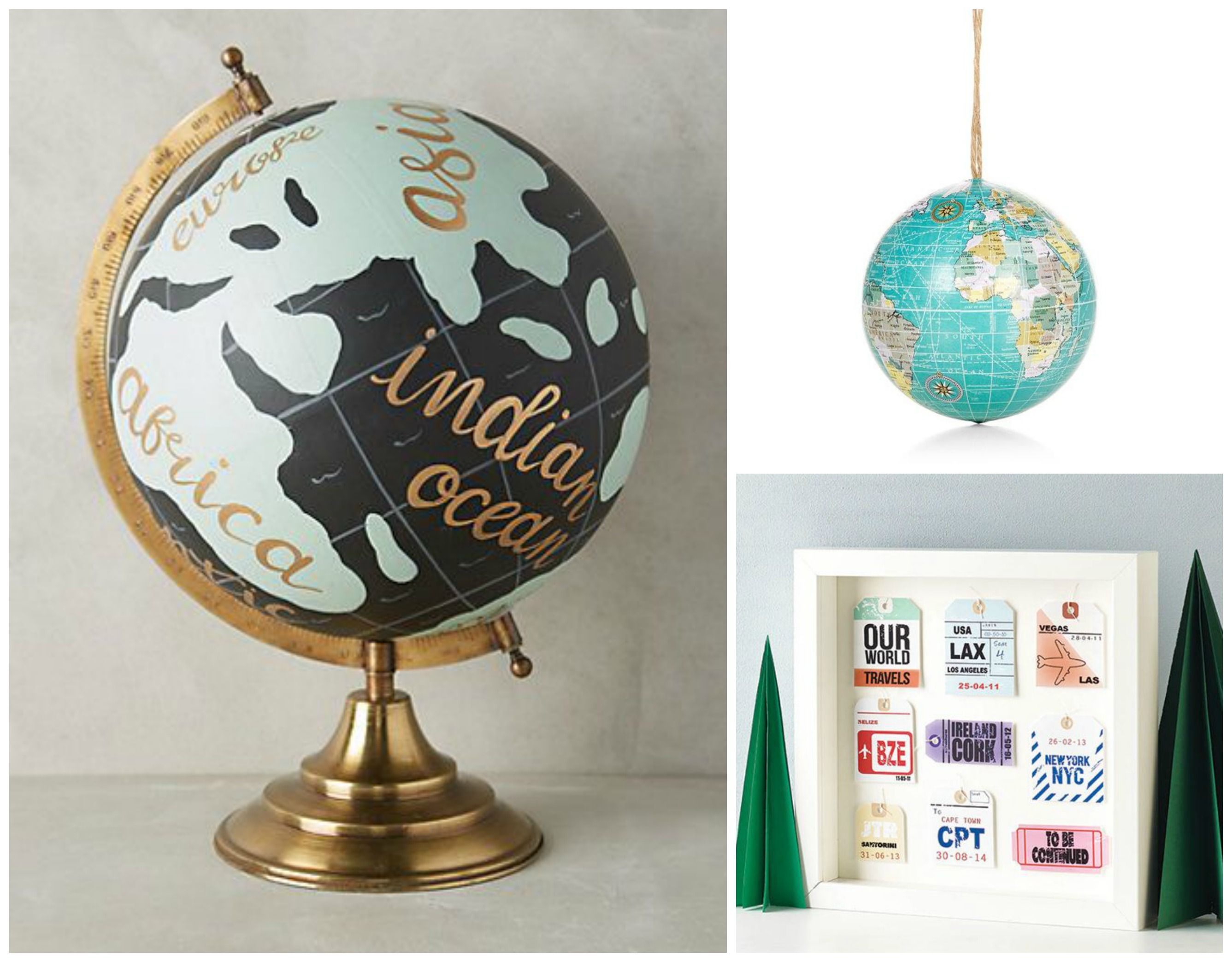 Those who love to travel will love these wanderlust-inspired Christmas gifts!  Saturday Shopping Edit // Christmas Gifts For Travel Lovers