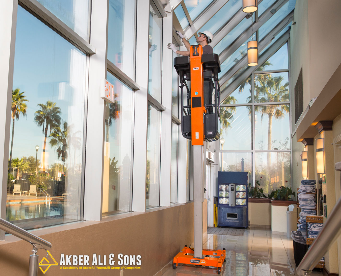 jlg ft70 liftpod personal portable lift is the new telescoping