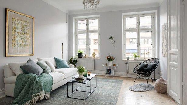 Scandinavisch Interieur Sydney : Heerlijk scandinavisch interieur met mintgroene touch living