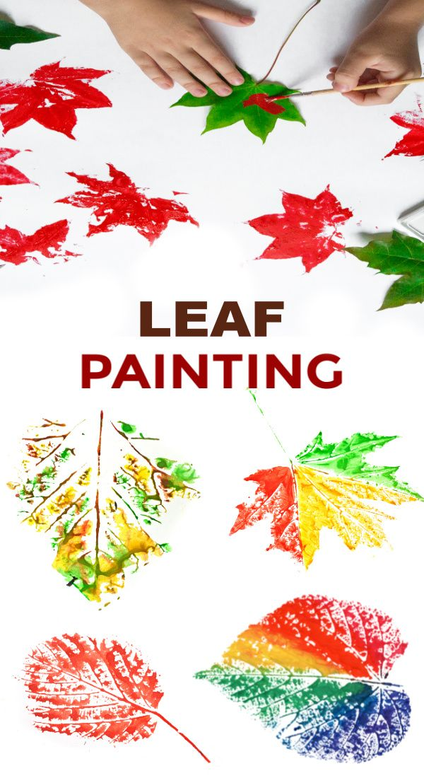 Leaf Painting #leafcrafts