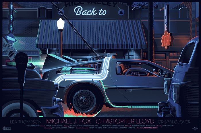 Mondo: The Archive | Laurent Durieux - Back to the Future, 2014