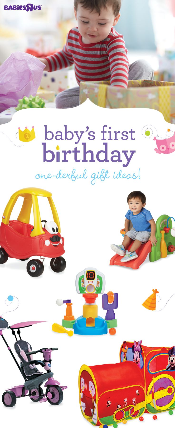Babys Turning One Soon Weve Got Some Great First Birthday Gift Ideas For