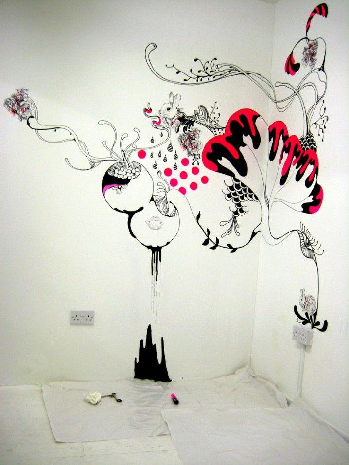 Diy Ideas Creative Wall Arts To Decorate Your House Okrashennye