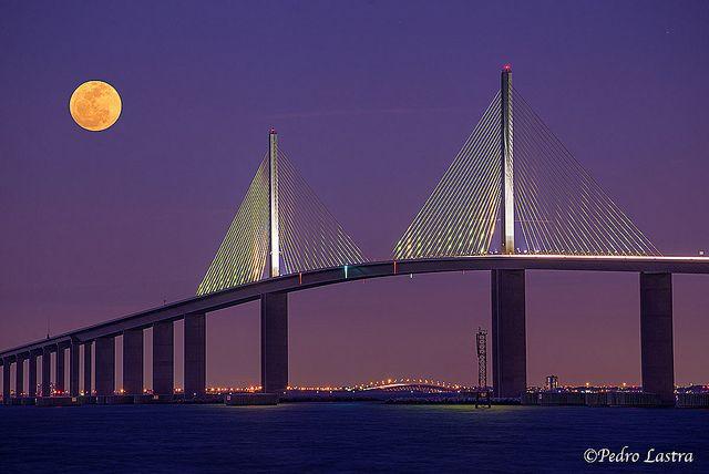 Skyway Bridge, St Petersburg, Florida