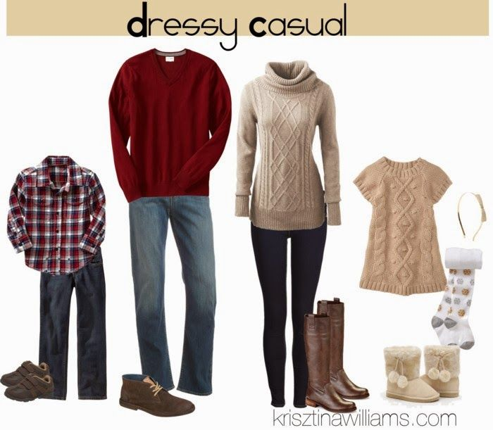Christmas Family Picture Outfit Ideas Cream Instead Of Oatmeal