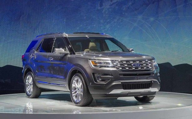 Ford 2017 Explorer Auto Show Pictures Redesign
