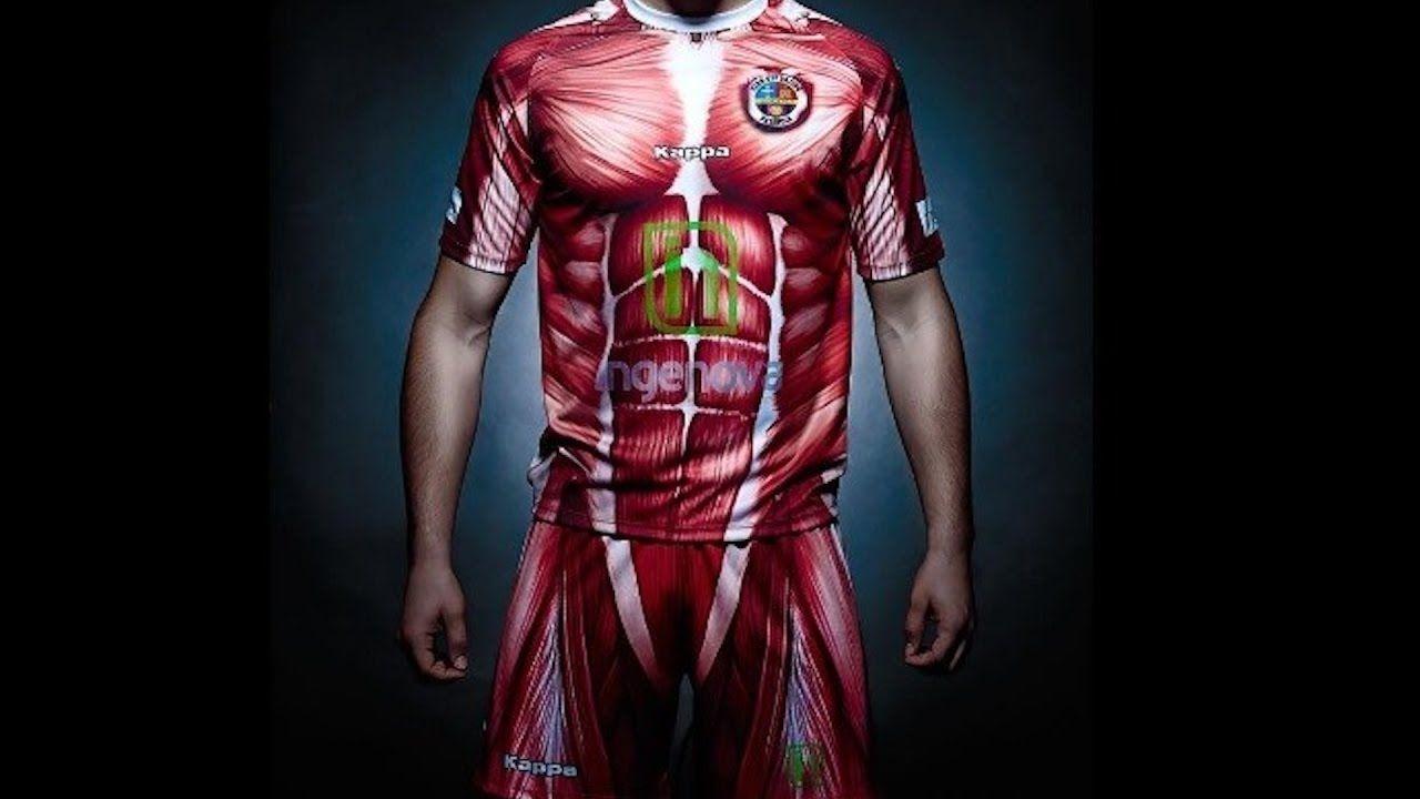 Camisa de futebol kappa músculos 58986e5fb54c6