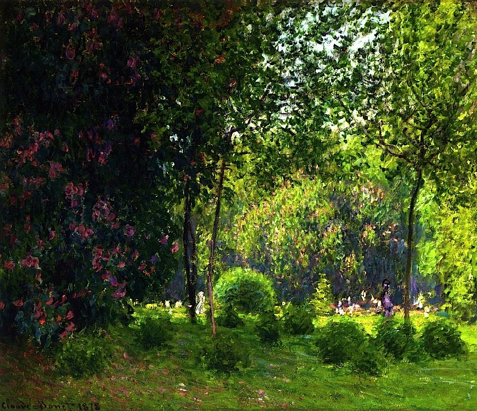 The Parc Monceau / Claude Monet - 1878
