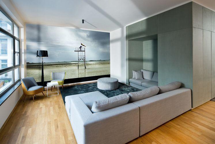 Modern Wohnbereich by DITTEL | ARCHITEKTEN GmbH