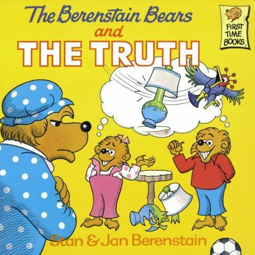 The Berenstain Bears and the Truth by Stan Berenstain, http://www.amazon.com/dp/0394856406/ref=cm_sw_r_pi_dp_PACNqb1HB5K08