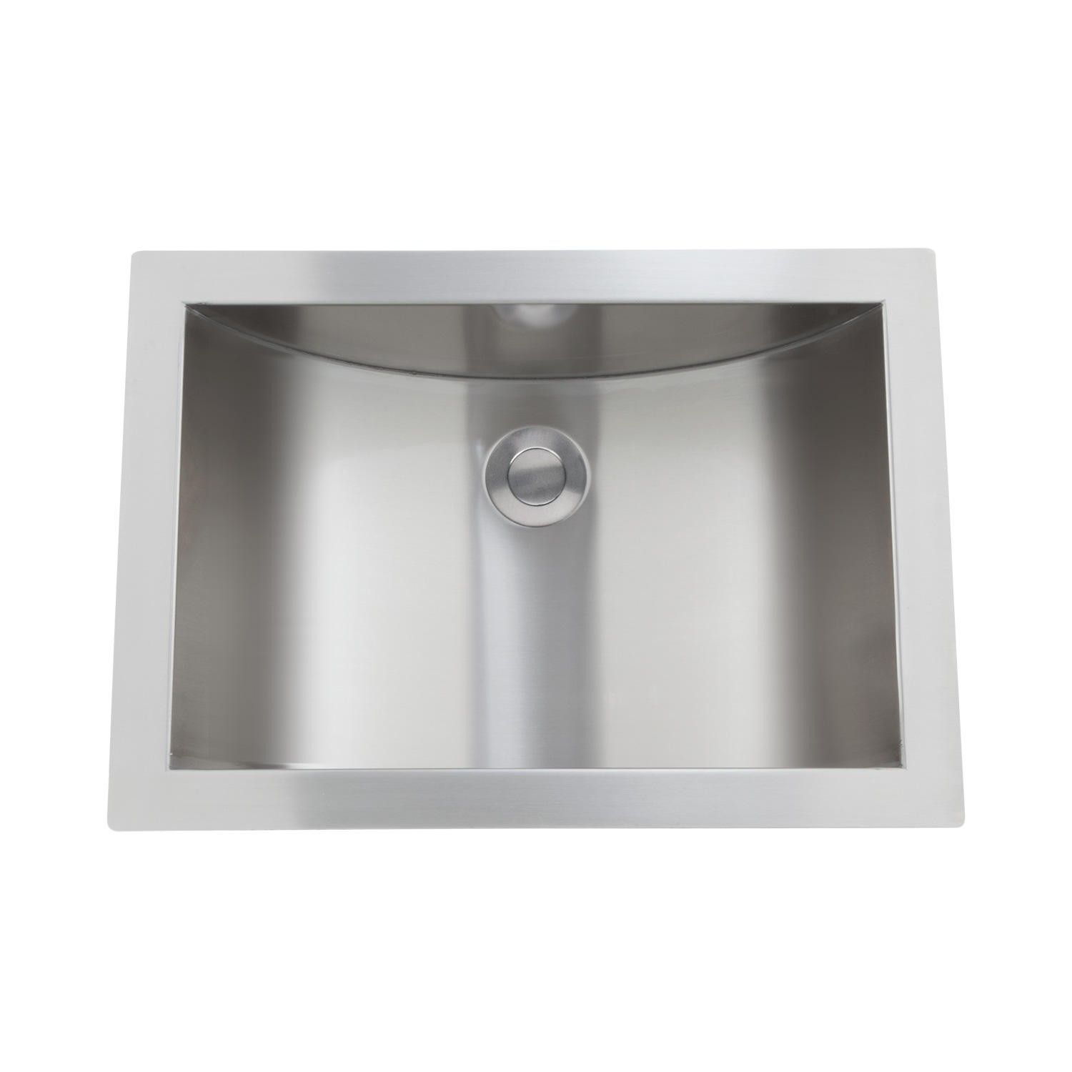 21 Optimum Stainless Steel Curved Undermount Sink Sinks Bathroom
