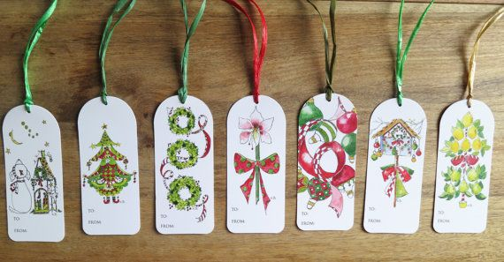 Hand decorated christmas gift bags yahoo image search results