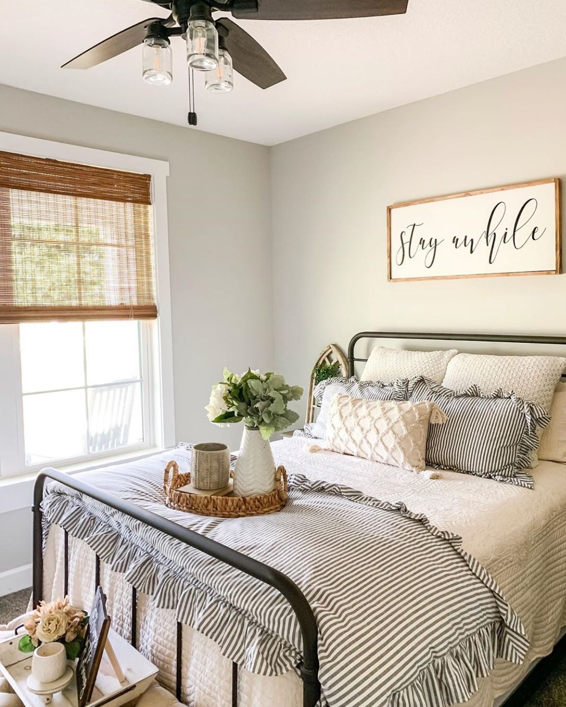 50 Cozy Farmhouse Master Bedroom Remodel Ideas: Pin By Becky Garling On Bedrooms