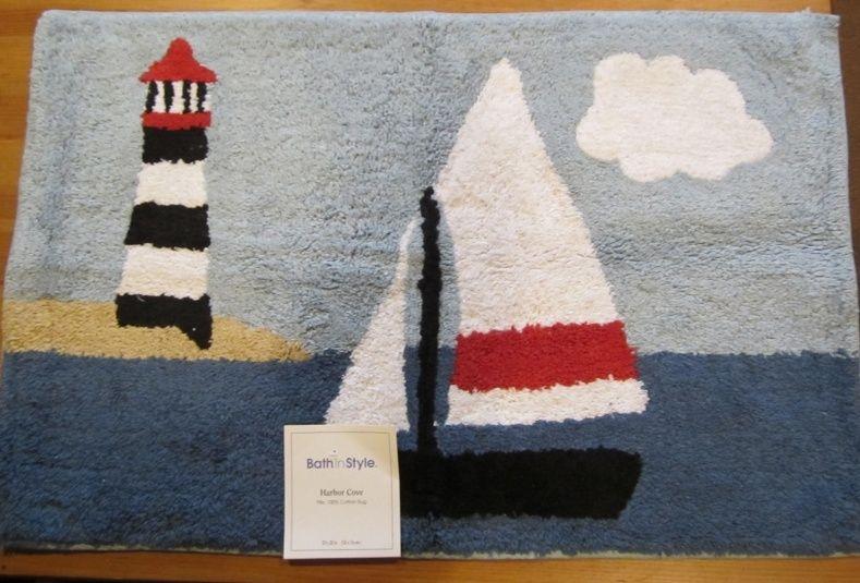 Lighthouse Bath Rugs
