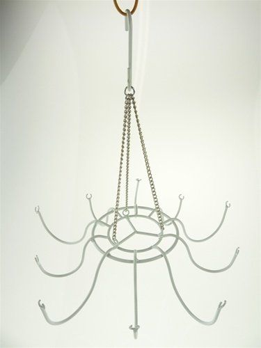 Hanging Metal Chandelier Frame Wire With Hook (12\