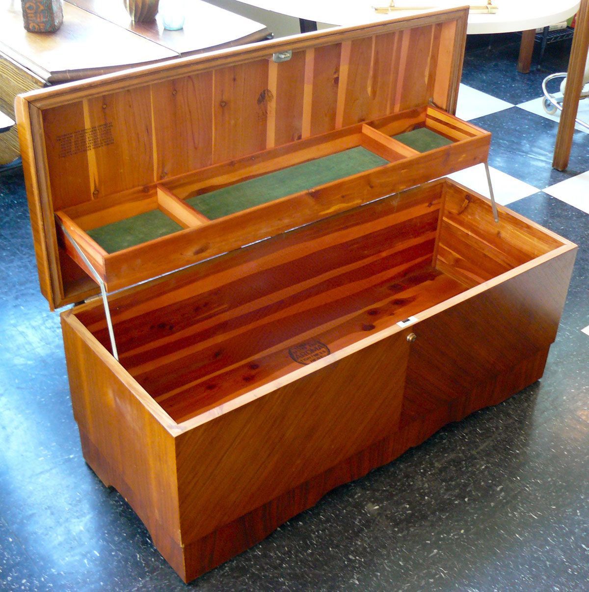 Good Lane Cedar Hope Chest. Mine Was Full To Overflowing. When I Married In 1971