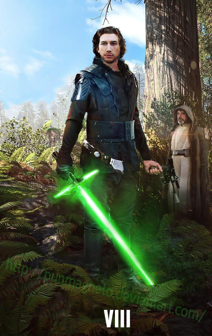Star Wars Episode 8 Fanmade Kylo Ren Light Side By Punmagneto On Deviantart Star Wars Images Star Wars Episodes Star Wars Movie