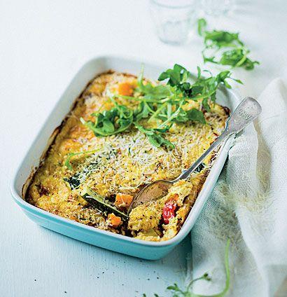 Roast vegetable and ricotta bake | Woolworths TASTE