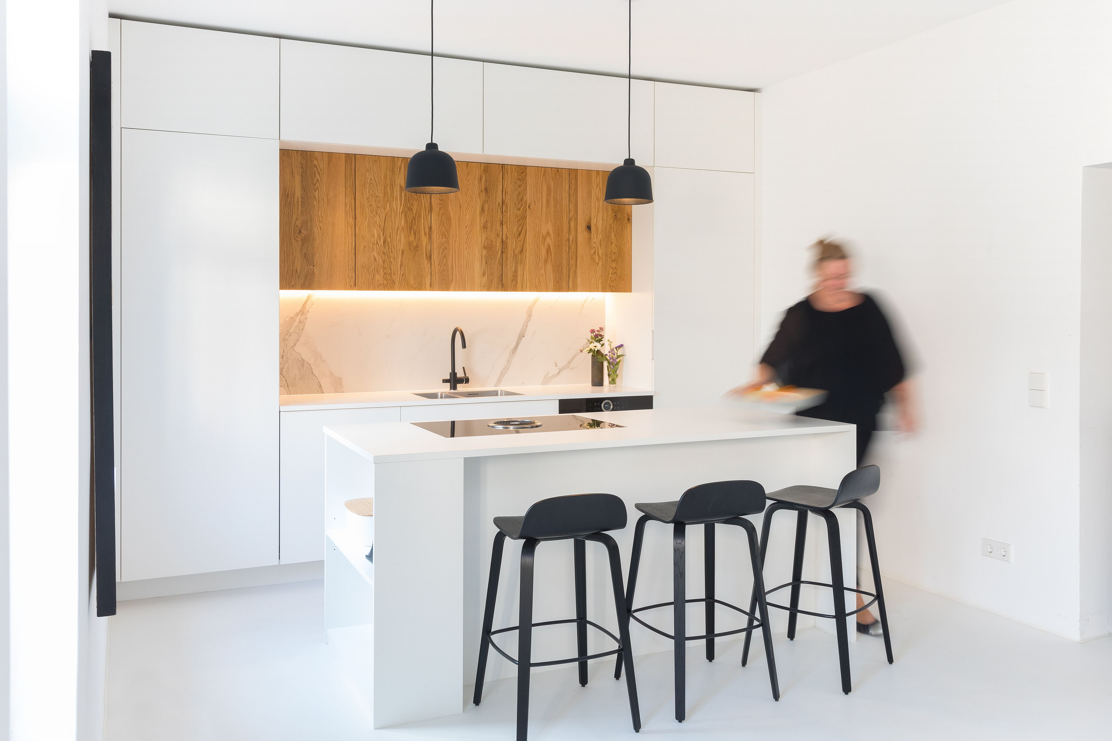 Weiße Küche Küche planen Küchenplanung