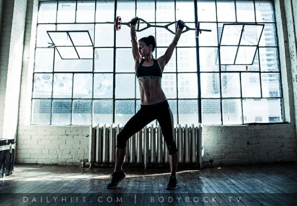 BodyRock DailyHiit #2 – Arms & Chest