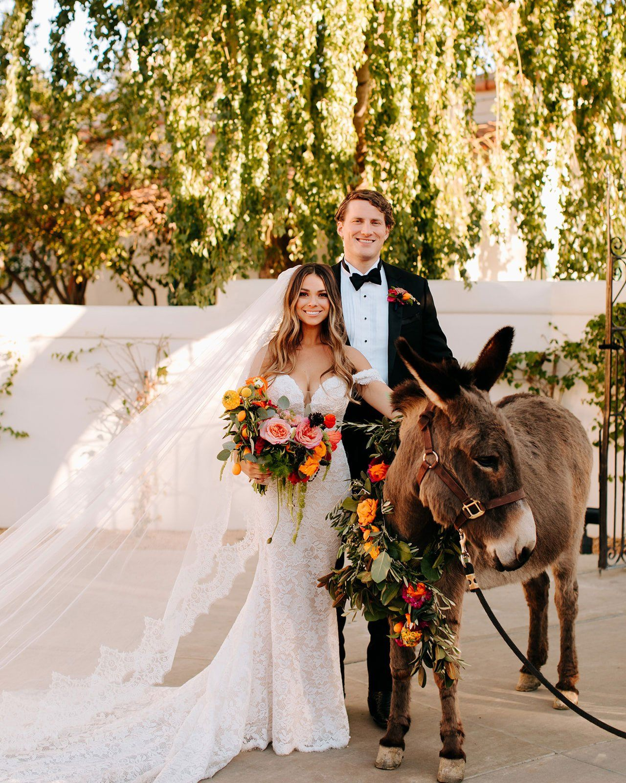 Magical Outdoor Wedding With Spanish Style Decor Details In California In 2020 Spanish Style Weddings Spanish Style Wedding Inside