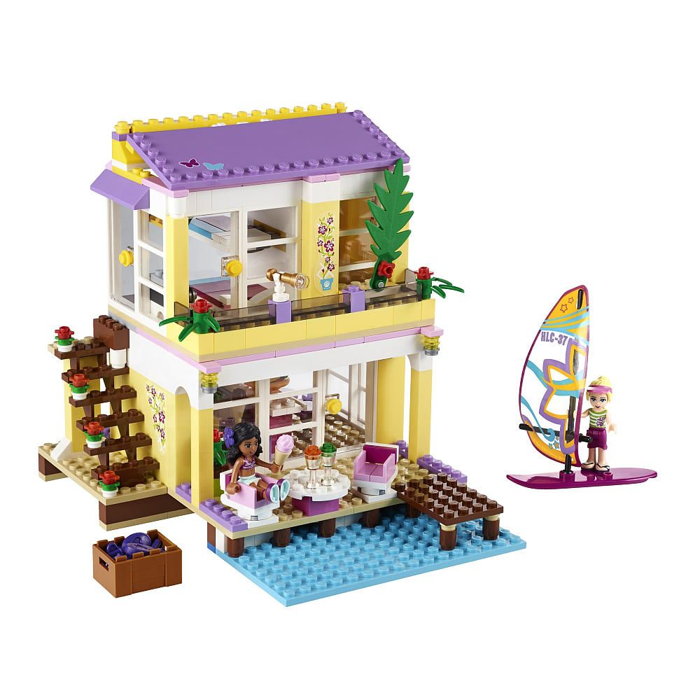 Toys R Us Legos For Girls : Lego friends stephanie s beach house  toys