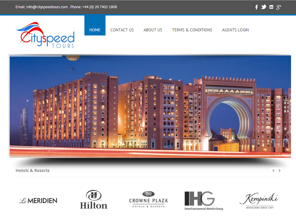 Cityspeedtours Com A Fully Leading Edge On Line Hotel Wholesaler