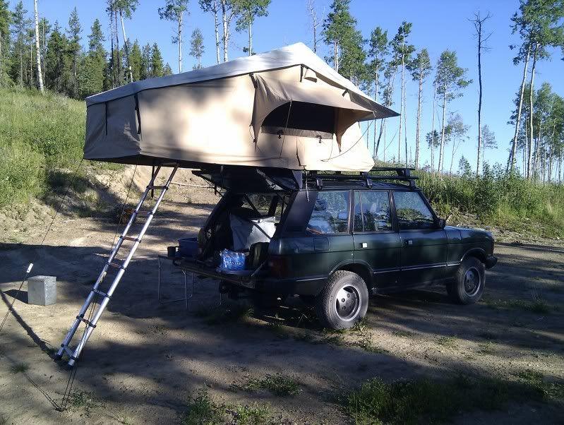Roof rack for RTT for a SWB RRC