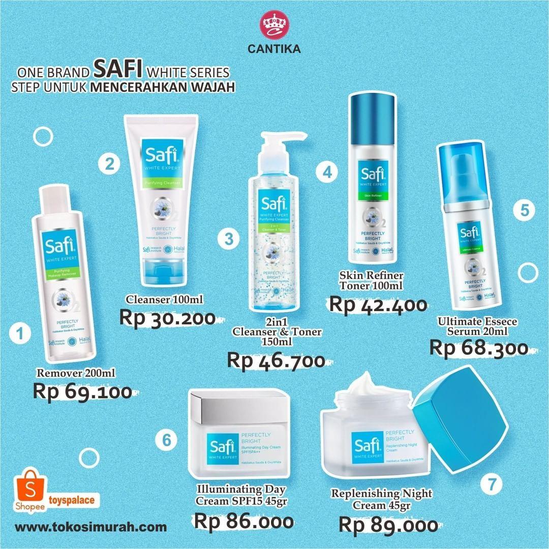 Harga Safi Skincare Review Untuk Kulit Berjerawat