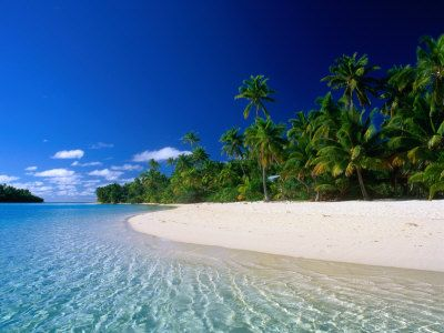 The glorious Cook Islands. A very much (as yet!) undiscovered jewel of the Pacific.