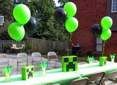 Quick table toppers for a party somewhere else cobe7th Pinterest