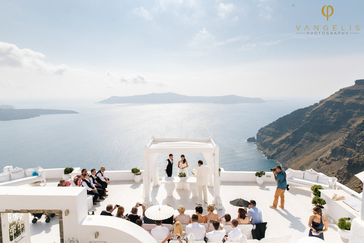 Amy And Phil S Gorgeous Wedding At Dana Villas In Santorini By The Bridal Consultant