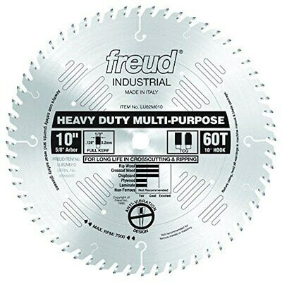 Sponsored Ebay Freud Lu82m010 10 Inch 60 Tooth Tcg Crosscutting And Ripping Saw Blade With Saw Blade Blade Circular Saw Blades