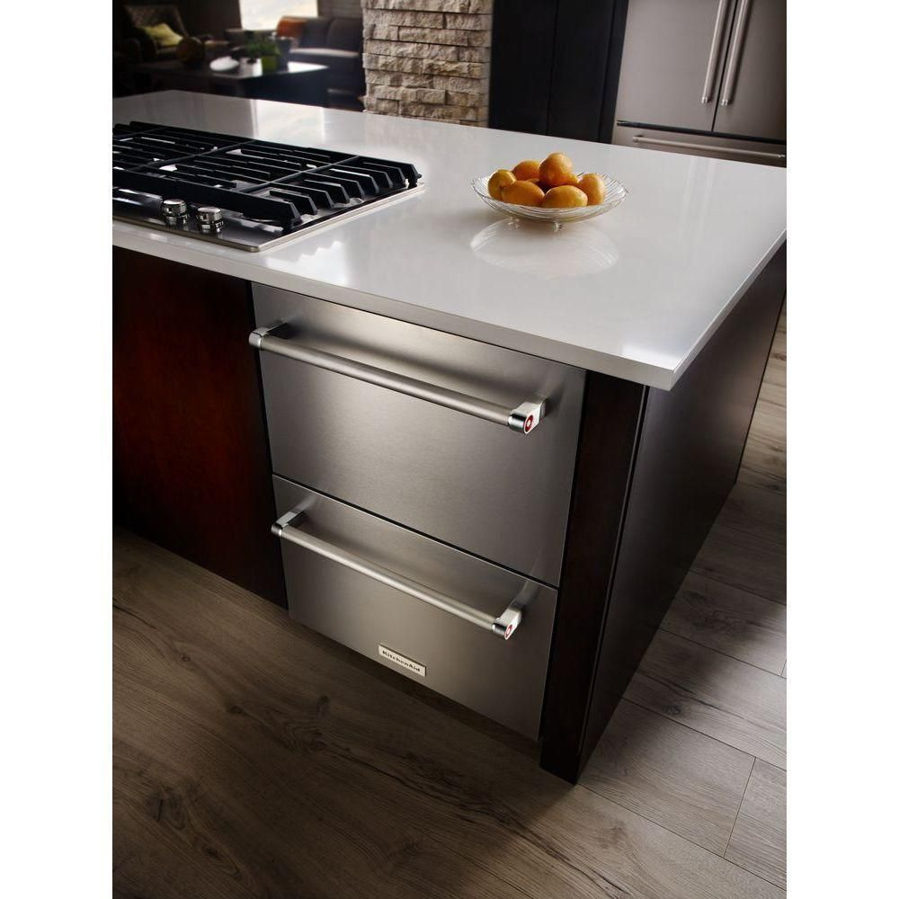 Kitchenaid 47 cu ft double drawer freezerless