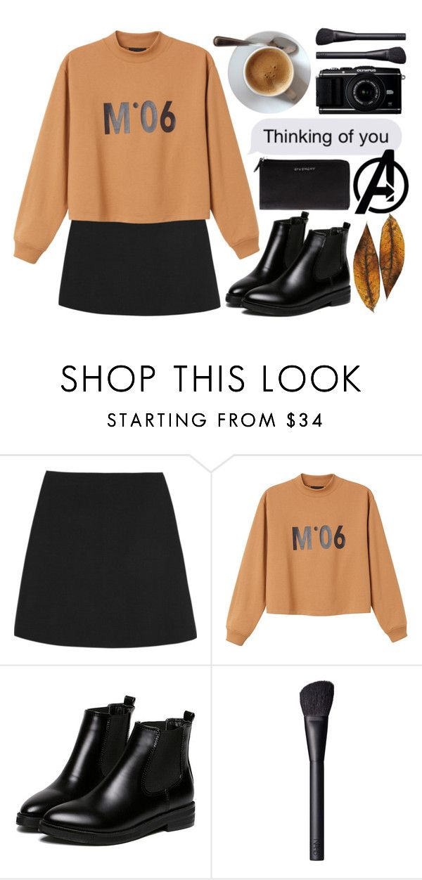 """🍂"" by nildaa ❤ liked on Polyvore featuring Valentino, Monki, WithChic, NARS Cosmetics and Givenchy"
