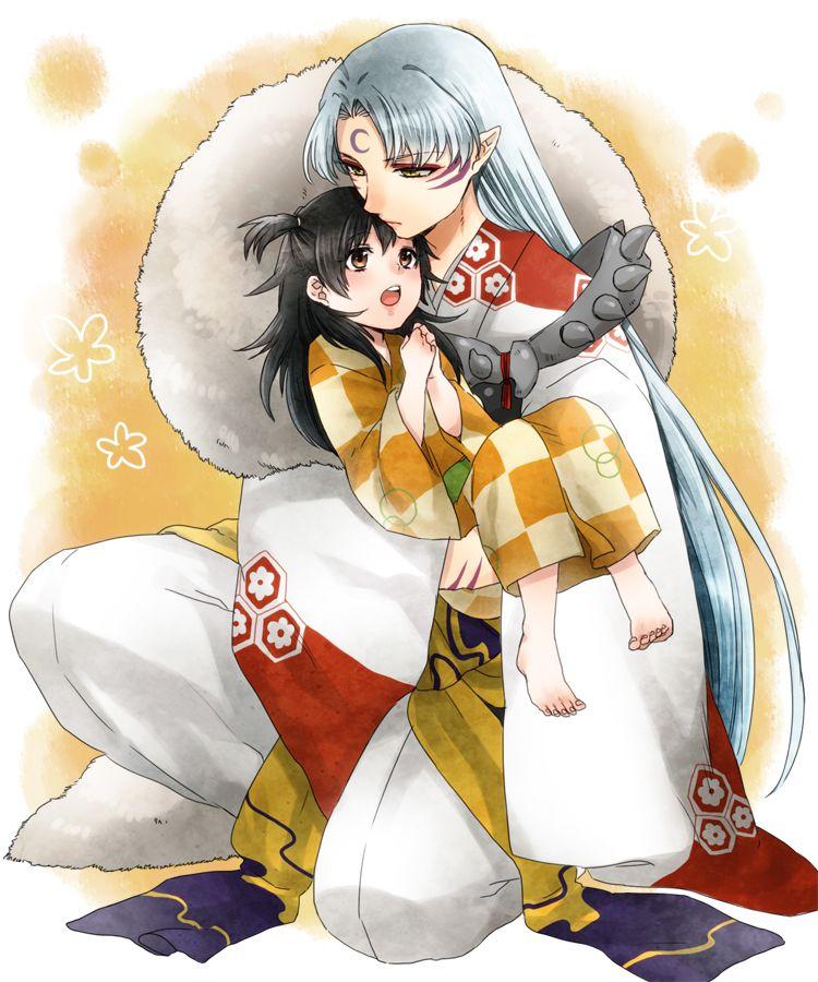 inuyasha sesshomaru and rin (With images) Sesshomaru