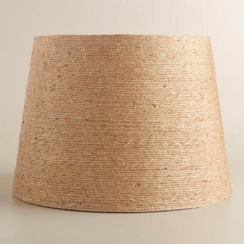 World Market Lamp Shades Twinewrapped Table Lamp Shade  Table Lamp Shades Room And Lights