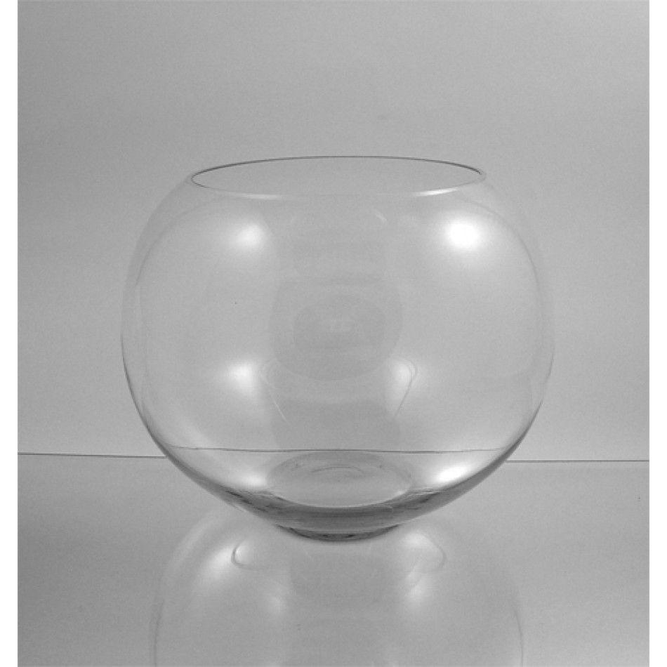 10 x 12 clear glass bubble bowl vase bulk case of 2 1850 per 10 x 12 clear glass bubble bowl vase bulk case of 2 1850 per floridaeventfo Choice Image