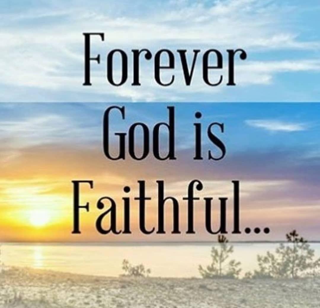I am a #living #testimony that my #God is #forever #faithful. | Faith in  god, Jesus lives, Faith