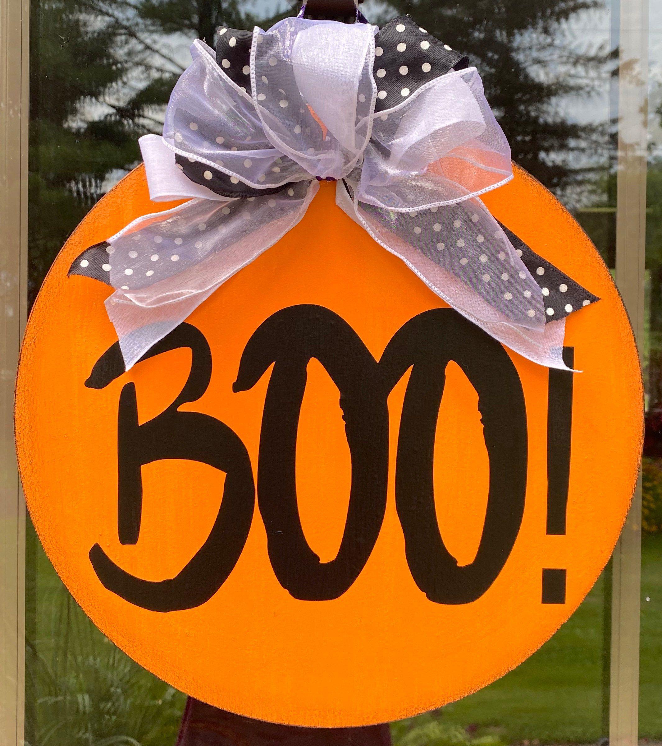 Trick or Treat | Halloween Door Hanger | Halloween Decor