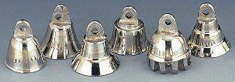 Inch Bells Brass and Silver - wedding favor idea
