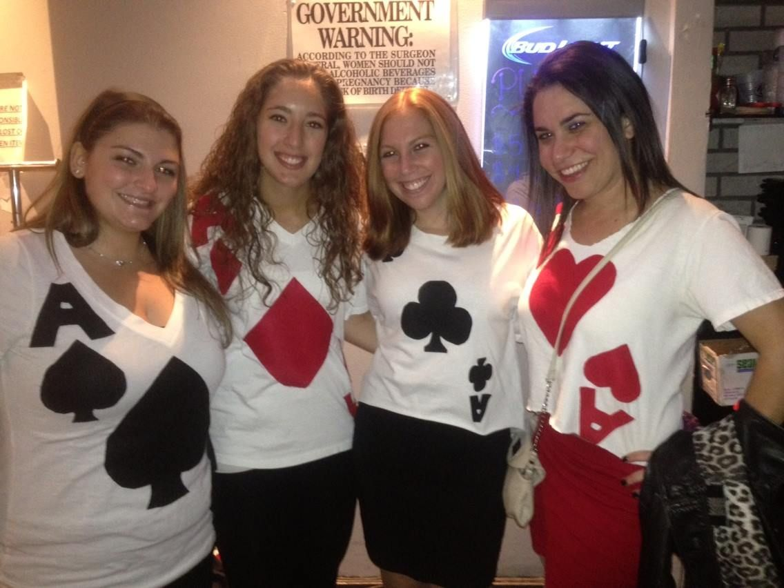 Best Friend - Group halloween costumes! we were 4 of a kind.. Ace ...
