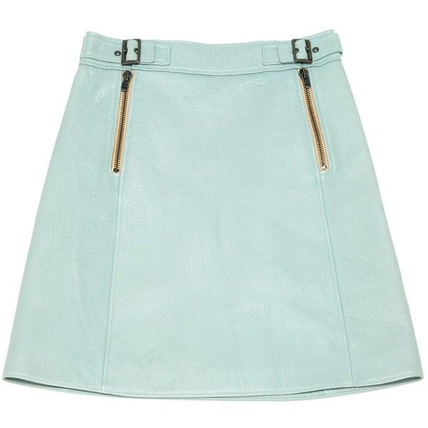 Chloé Leather Knee-Length Skirt Cheap Sale Amazing Price Discount How Much Clearance 100% Authentic NXKN90